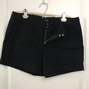 A.N.A | Black Cargo Shorts